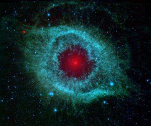 Helix Nebula in Infrared
