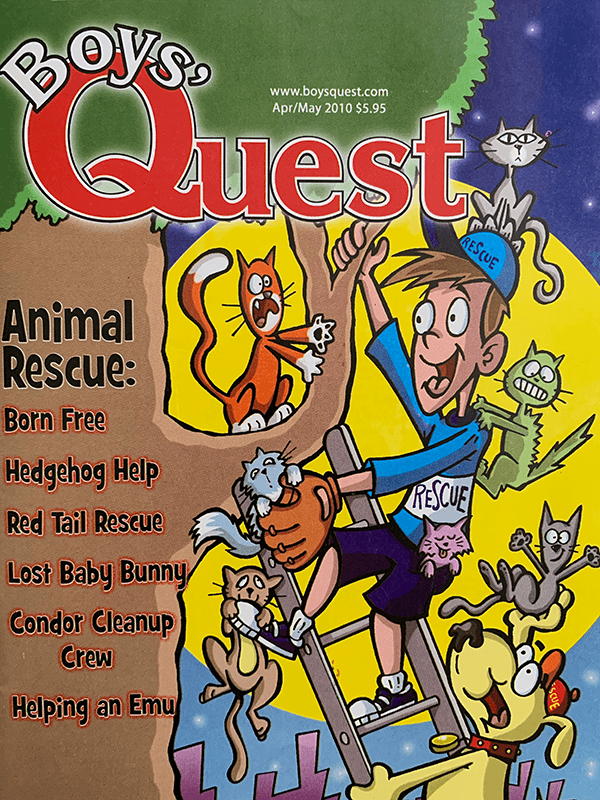 Boy's Quest - Apr-May 2010