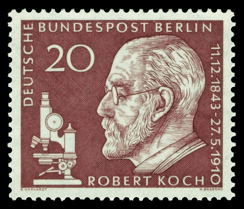 20 cent stamp Robert Koch