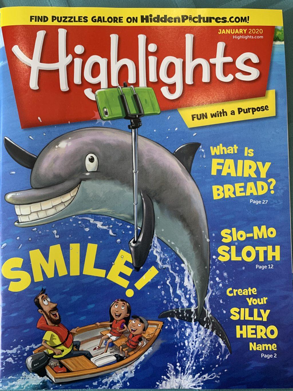 Cover Highlights magazine Jan 2020