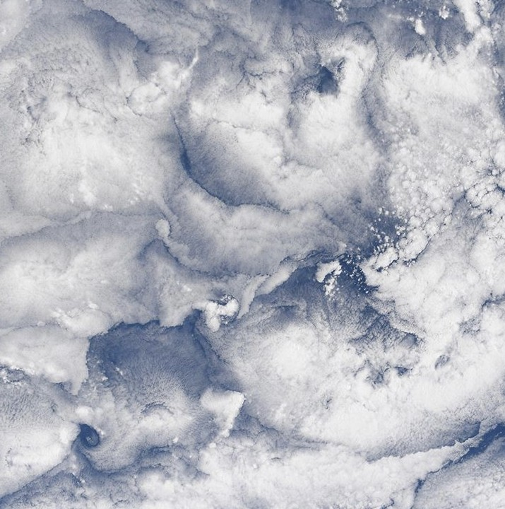 Clouds from space station 2