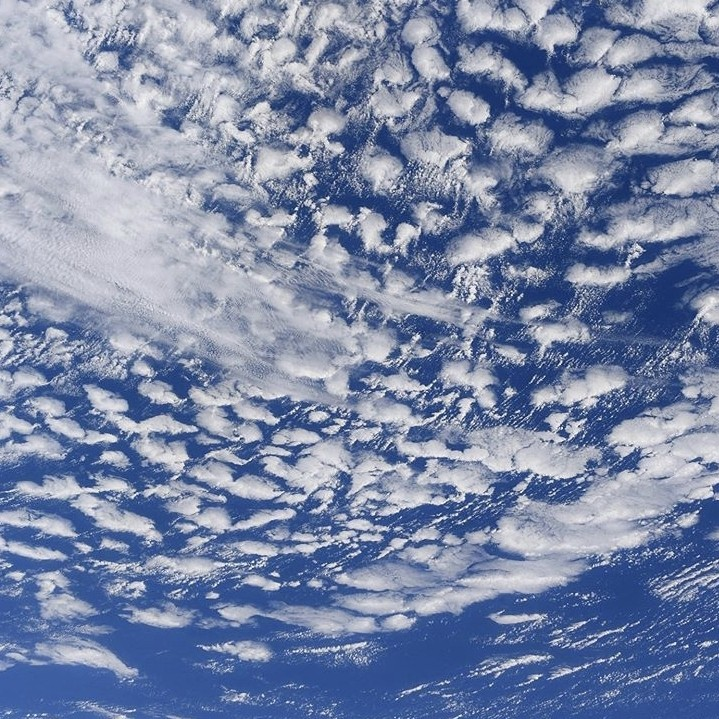Clouds from space station