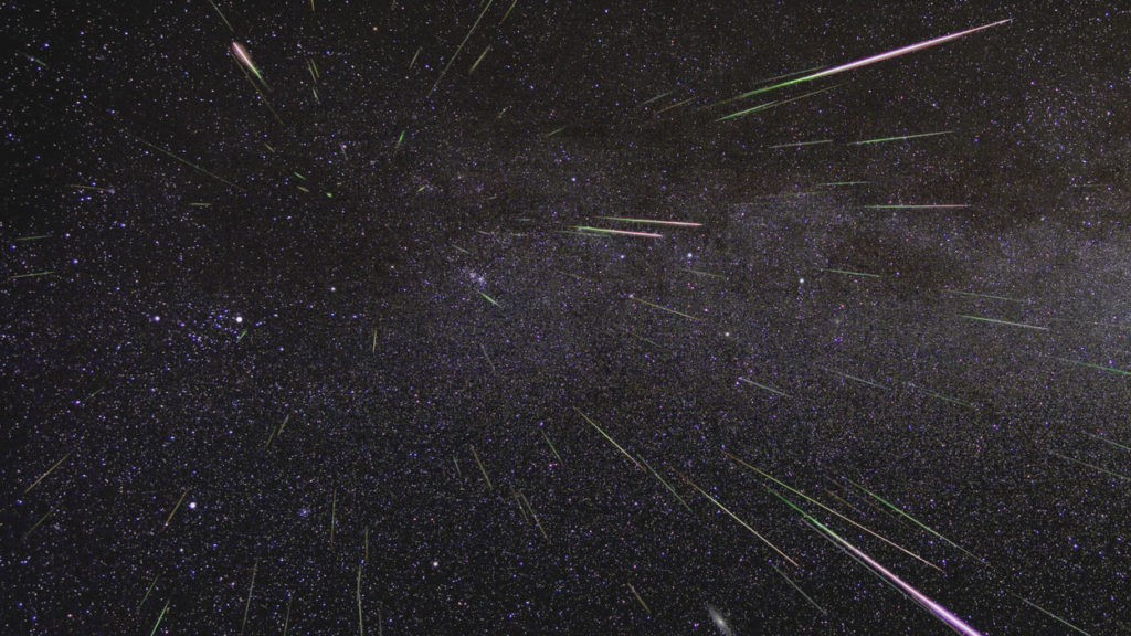 Perseid time lapse