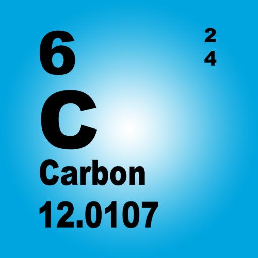 periodic table block for carbon