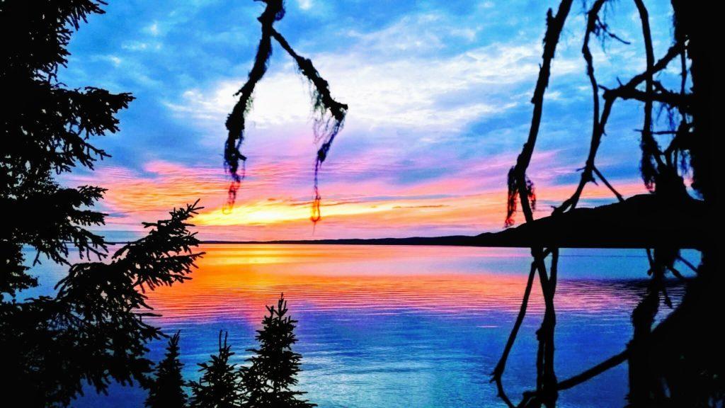 Another sunset Skilac Lake