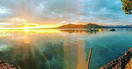 Sunset Skilac Lake