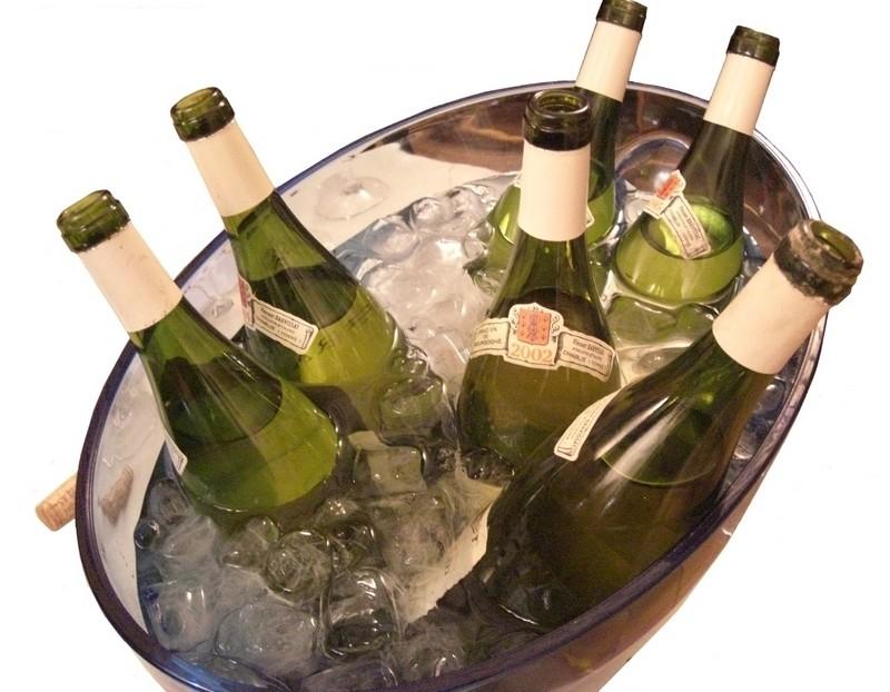 Chilling wine