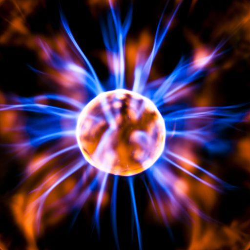 Plasma Ball with Neon
