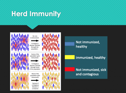 Vaccines and Herd Immunity chart