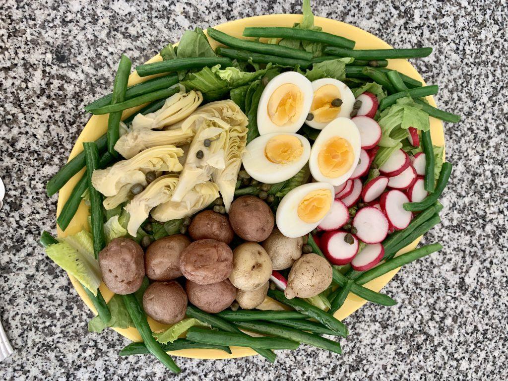Sue Berk Koch salad nicoise