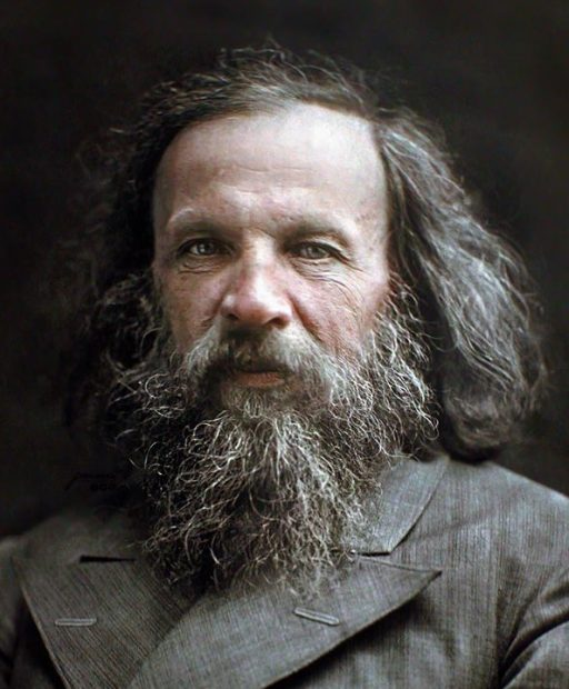 Greastest scientists of all time Dimitri Mendeleev Periodic Table Guy