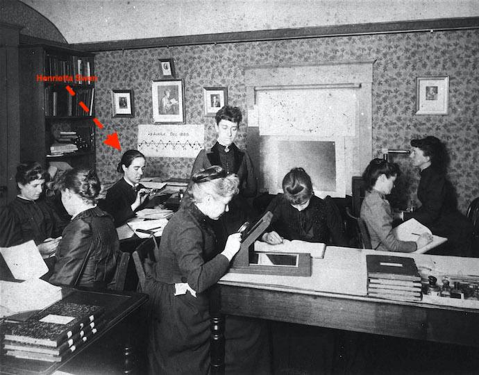 Harvard Computers in 1912