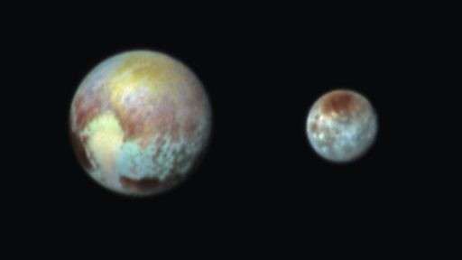 Pluto's moon discovered in 1978
