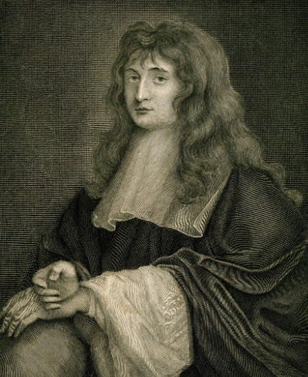 famous scientists Isaac Newton stuck a needle in his eye