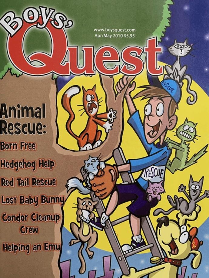 Boys' Quest Magazine Susan Berk Koch