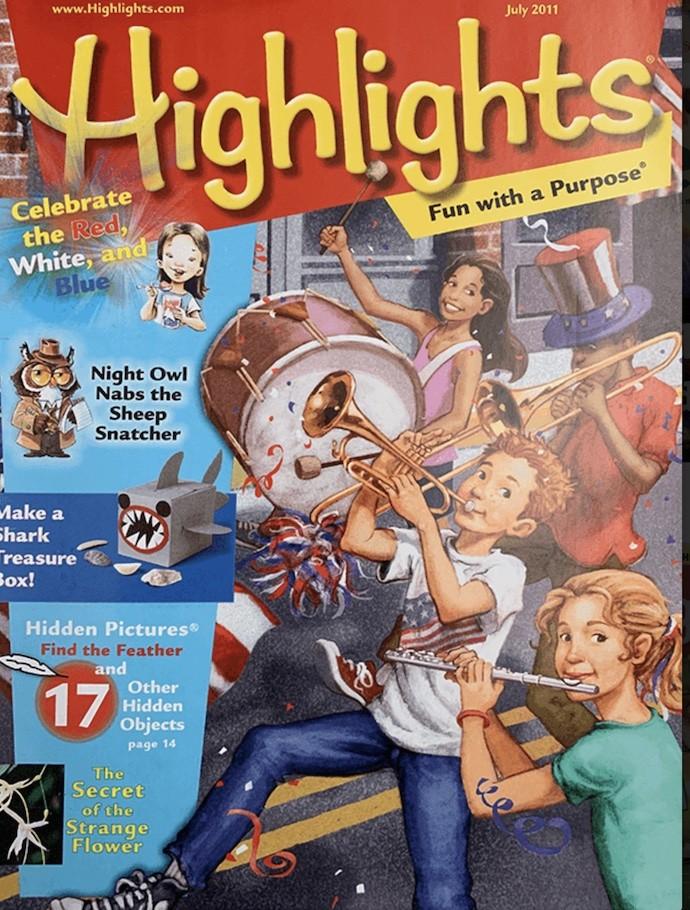 Susan Berk Koch contributor Highlights for Kids